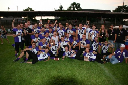 A bajnok Újpest Bulldogs