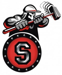Steelers logo back
