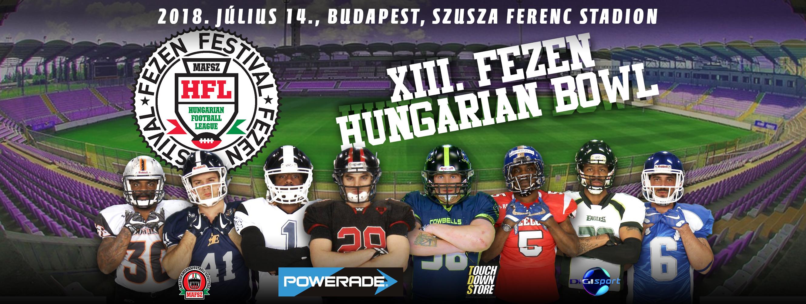 XIII FEZEN Hungarian bowl cover borító plakát